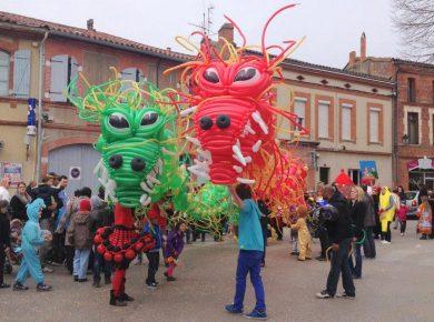 Animation ballons carnaval, festivals