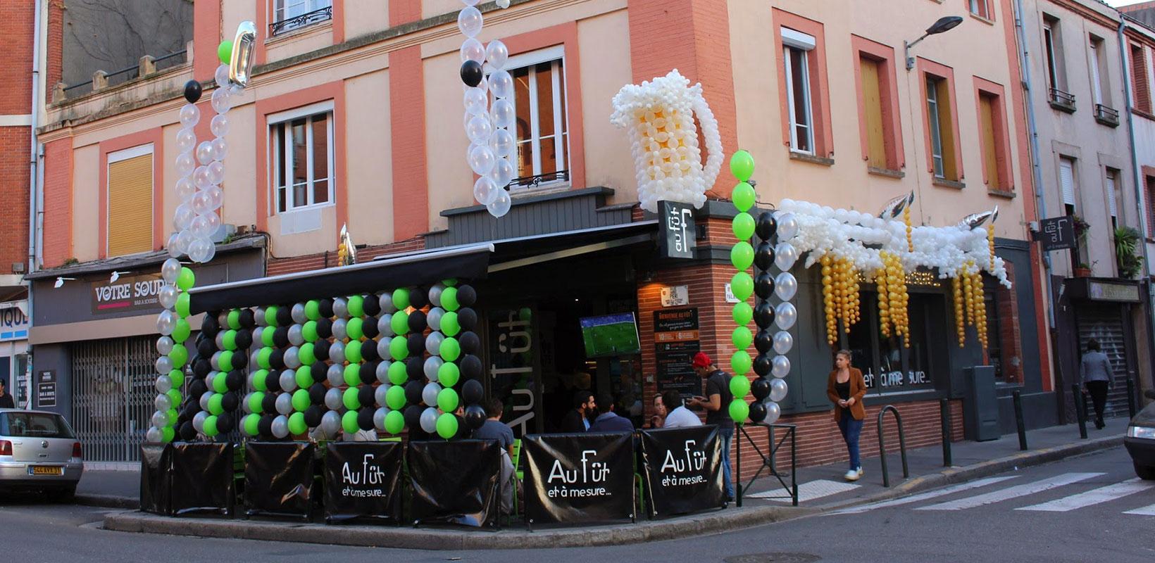 Décoration en ballons Toulouse